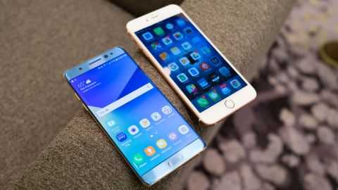 Which One Is The King?  Samsung Galaxy Note7 or  iPhone 6s Plus, Here's The  Specs
