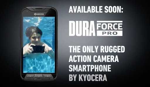 DuraForce Pro: Another  Rugged Smartphone With  Waterproof By Kyocera