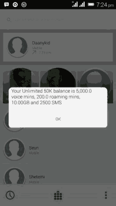 MTN Free #50,000    10gb |  September  CHEAT